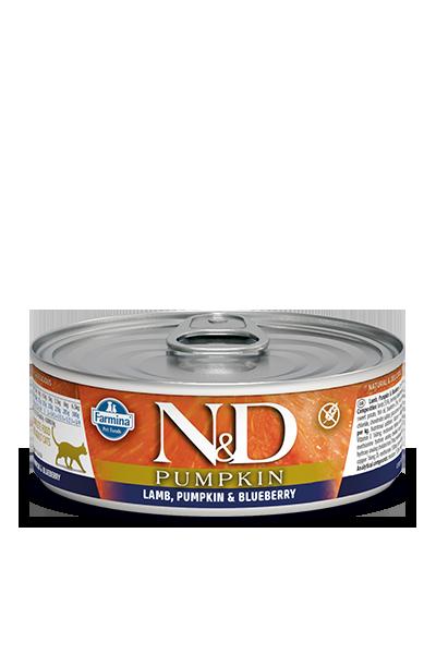 Farmina N&D Pumpkin Lamb & Blueberry Wet Cat Food Image