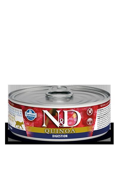 Farmina N&D Quinoa Digestion Wet Cat Food, 2.8-oz