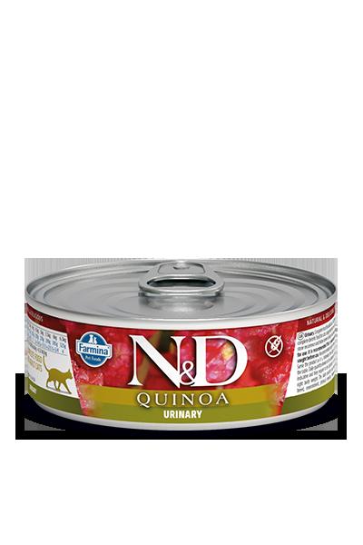 Farmina N&D Quinoa Urinary Duck Wet Cat Food, 2.8-oz