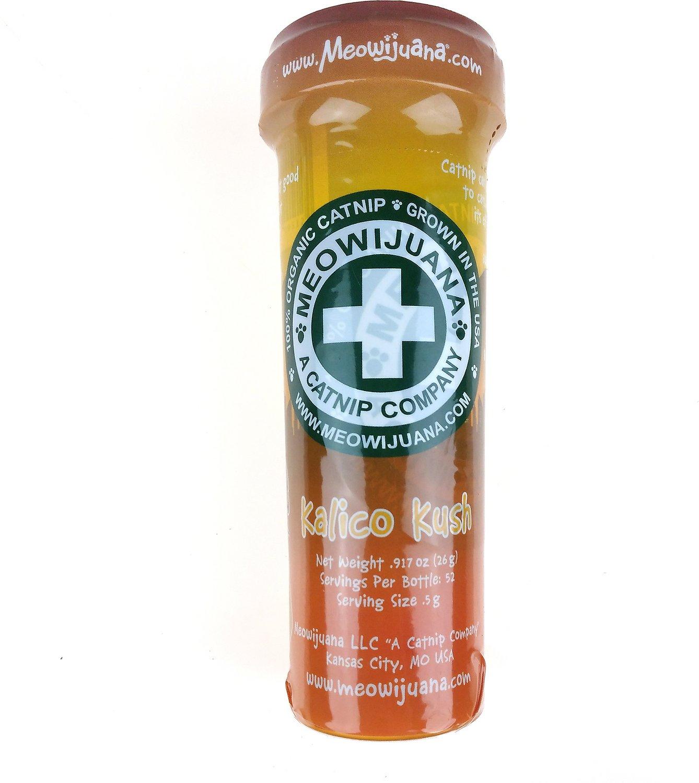 Meowijuana Kalico Kush - Catnip & Valerian Root Blend, Large