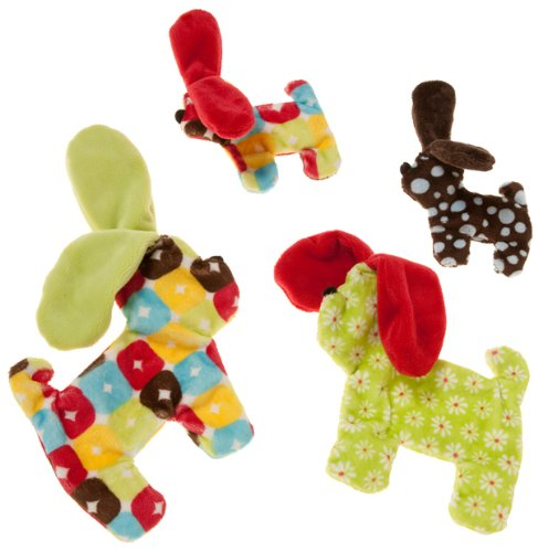 West Paw  Floppy Dog Squeak Toy for Dogs, Assorted