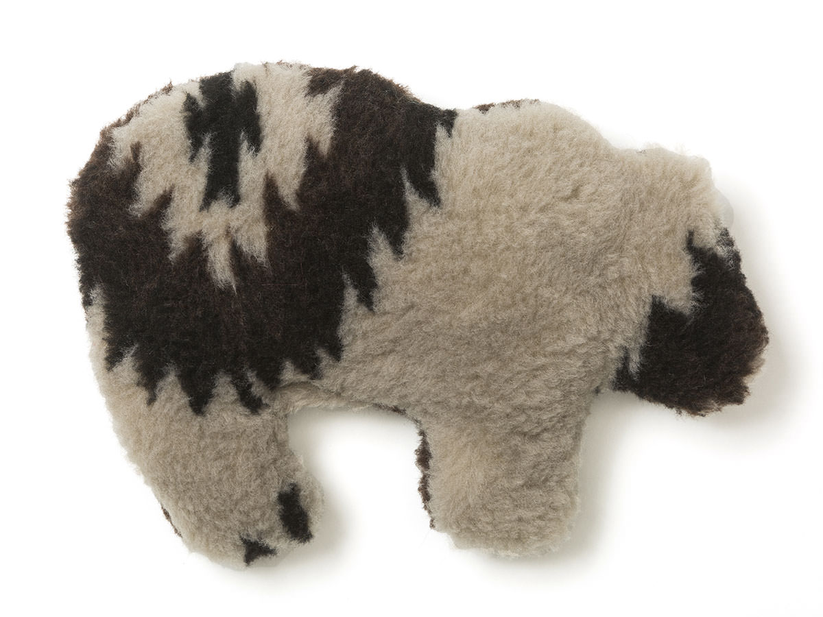 West Paw  Gallatin Grizzly Squeak Toy For Dogs, Diamond