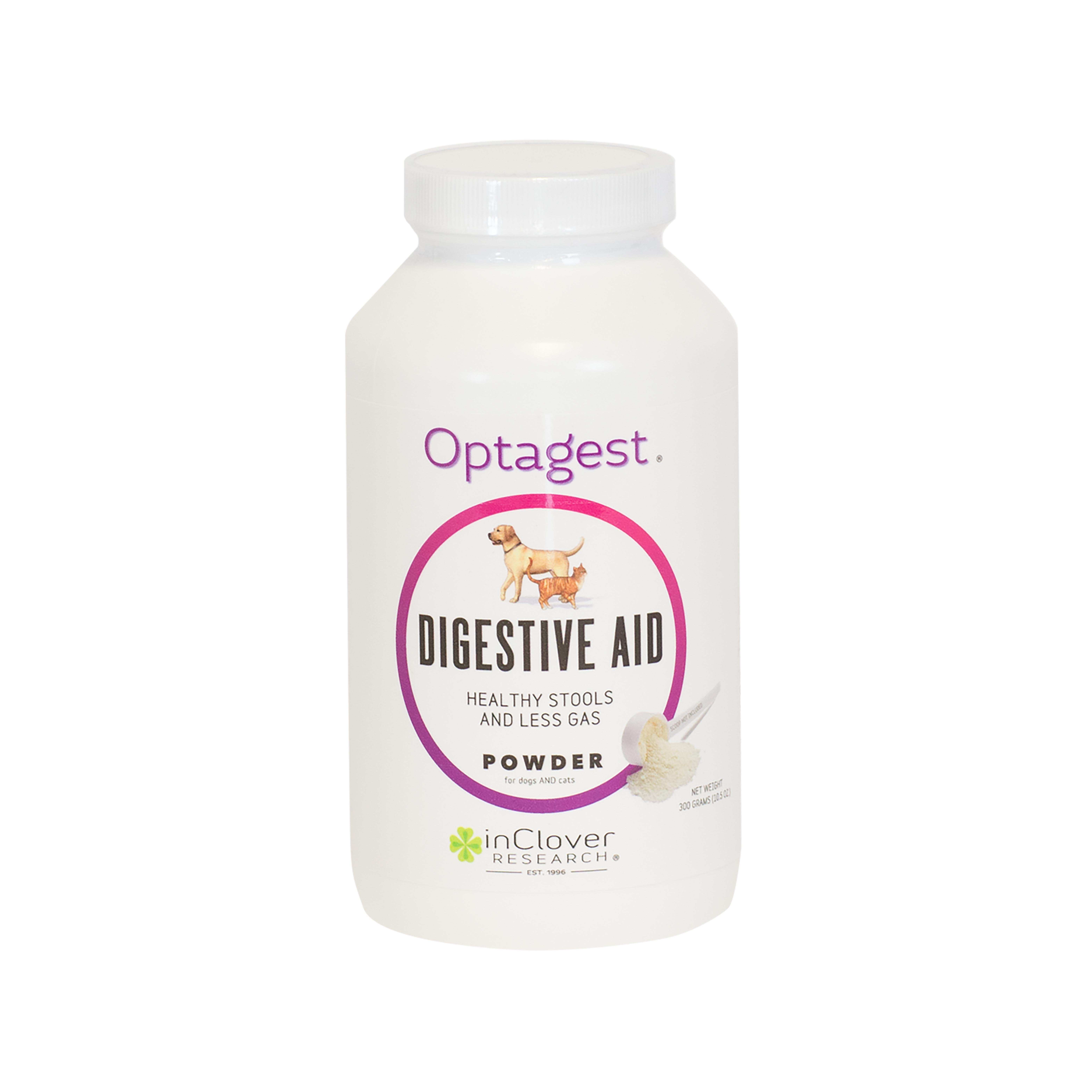 inClover K9 Optagest Digestive Aid Powder Dog Supplement, 300-g