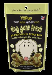 YöPup Dog Gone Fresh Probiotic Biscuits, 7-oz