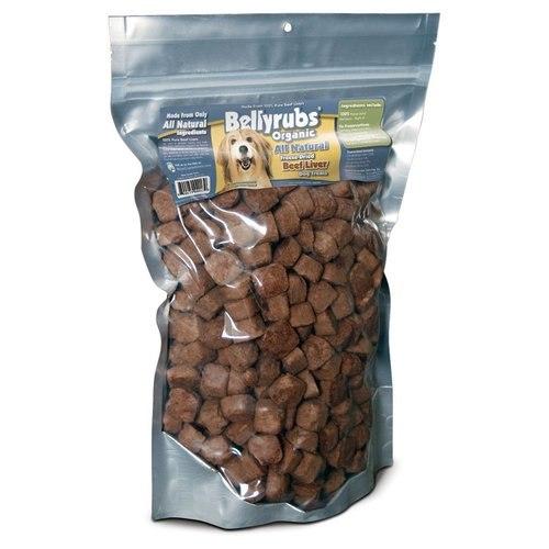 Bellyrubs Organic All Natural Beef Liver Freeze-Dried Dog Treats, 5-oz
