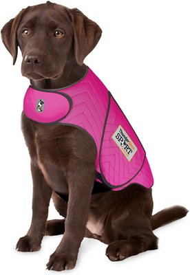 ThunderShirt Sport Anxiety & Calming Solution for Dogs, Fuchsia, Small