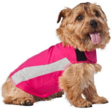 ThunderShirt Anxiety & Calming Solution for Dogs, Pink Polo, XX-Small