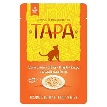 Tapa Topper Chicken & Pumpkin Pouch, 1.76-oz, case of 8