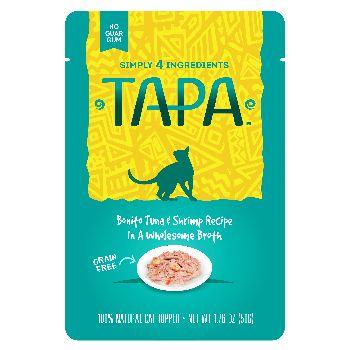 Tapa Topper Tuna & Shrimp Pouch, 1.76-oz, case of 8