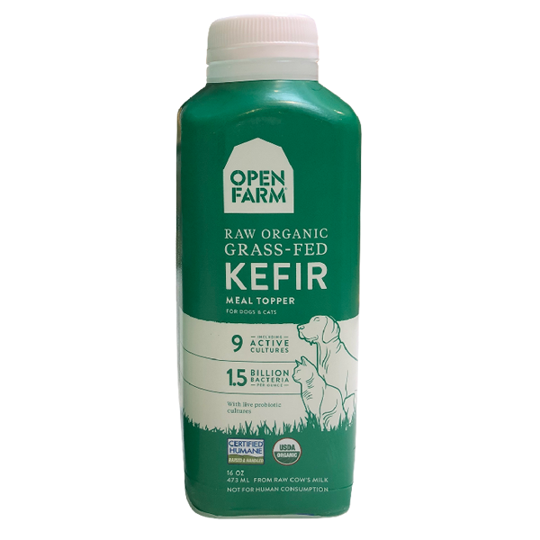 Open Farm Raw Organic Grass-Fed Kefir Topper For Dogs & Cats Image