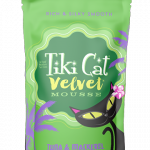 Tiki Cat Velvet Mousse Tuna & Mackerel Cat Pouch, 2.8-oz