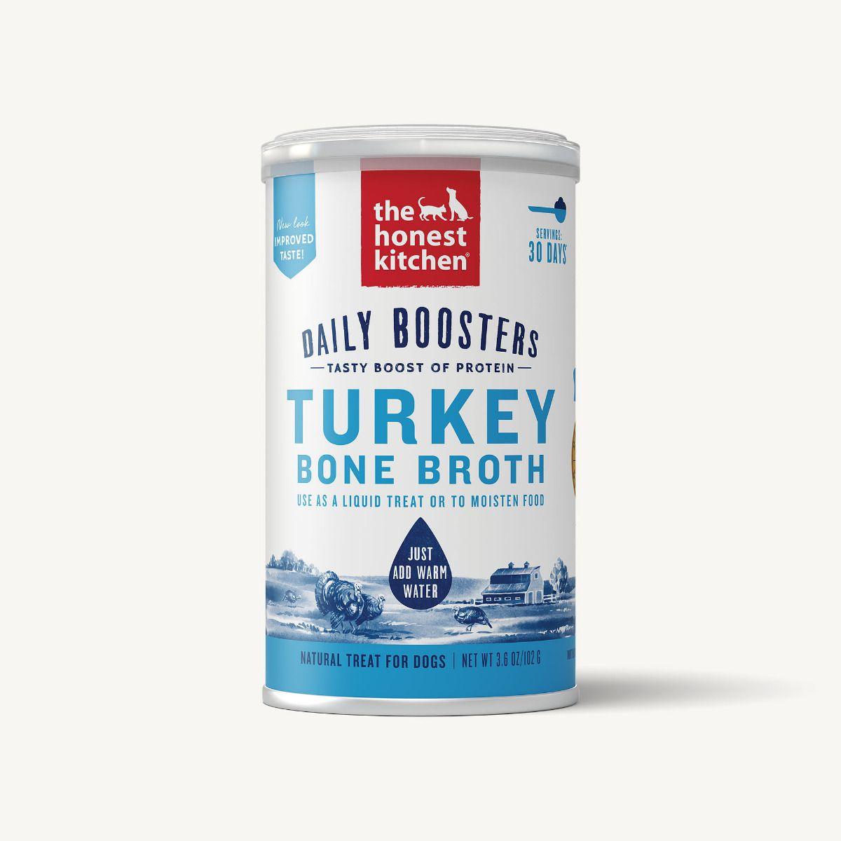 The Honest Kitchen Instant Bone Broth Turkey & Turmeric, 3.6-oz