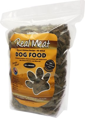 The Real Meat Company 90% Chicken Grain-Free Air-Dried Dog Food, 10-lb bag