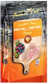 Fussie Cat Market Fresh Guinea Fowl & Turkey Recipe Grain-Free Dry Cat Food, 2-lb
