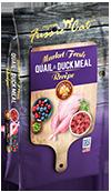 Fussie Cat Market Fresh Quail & Duck Recipe Grain-Free Dry Cat Food, 10-lb