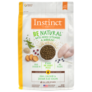 Instinct by Nature's Variety Be Natural Real Chicken & Brown Rice Dogs Food Image