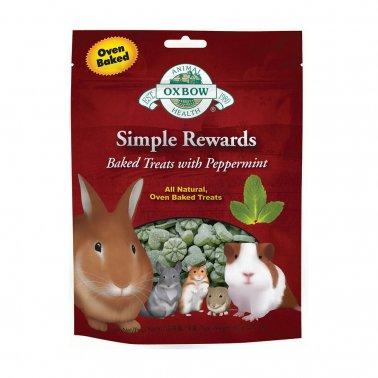 Oxbow Simple Rewards Peppermint Baked Treat, 3-oz (Size: 3-oz) Image