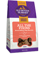 Old Mother Hubbard Grain Free Fixins Mini Dog Treat, 16-oz