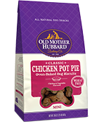 Old Mother Hubbard Grain Free Chicken Pot Pie Mini Dog Treat, 20-oz Size: 20-oz