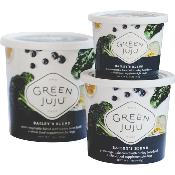 Green Juju Bailey's Blend Supplement for Dogs, 7.5-oz