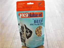 K9 Natural Treats Beef Healthy Bites Freeze Dried Dog Treats, 1.76-oz
