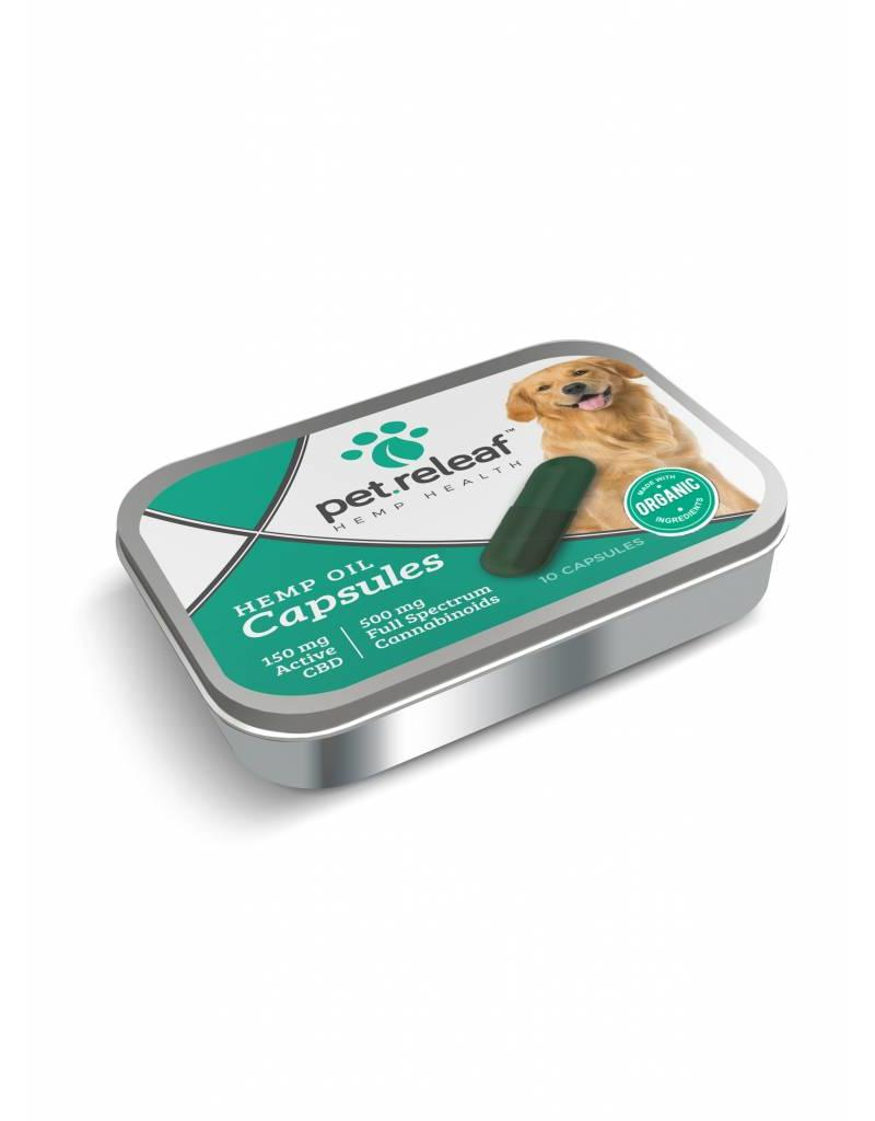 Pet Releaf Oil Capsules Dog Supplement, 150mg
