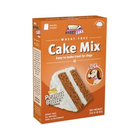 Puppy Cake Mix - Peanut Butter (wheat-free) Dog Treat, 9-oz