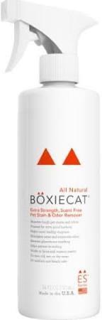 Boxiecat Cat Premium Extra Strength Pet Stain & Odor Remover, 24-oz
