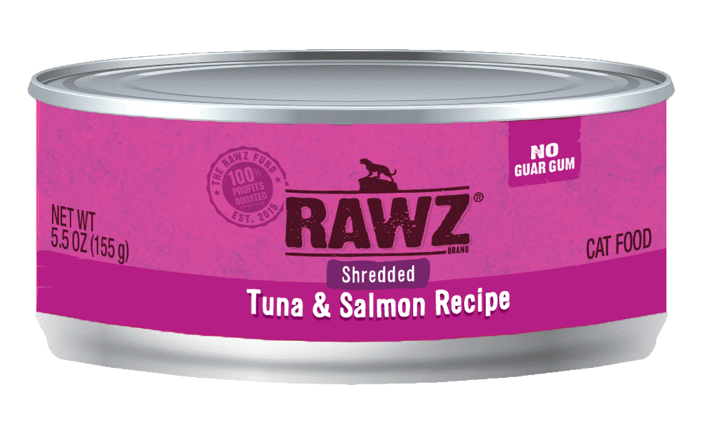 Rawz Tuna & Salmon Shredded Cat Can Image