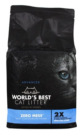 World's Best Zero Mess Advanced Cat Litter Image