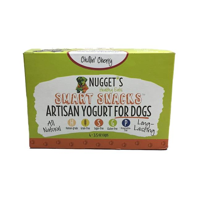 Nugget's Healthy Eats Chillin' Cherry Frozen Yogurt for Dogs Image