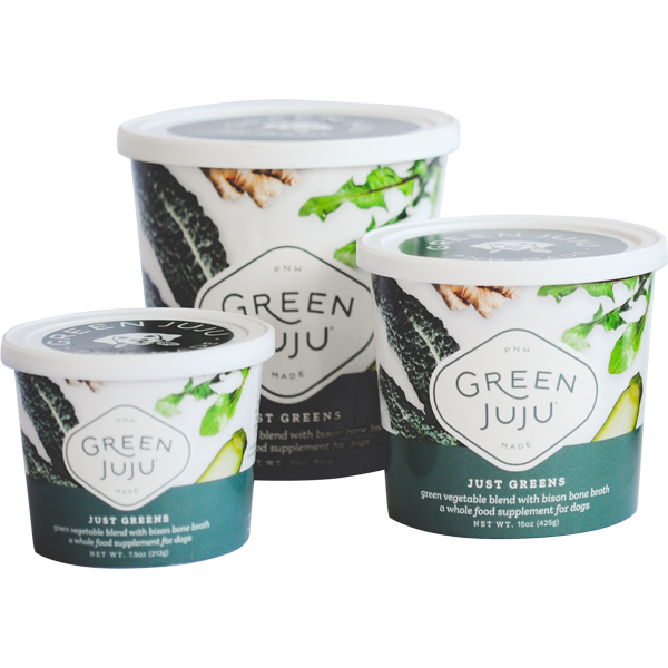 Green Juju Just Greens Supplement for Dogs, 7.5-oz