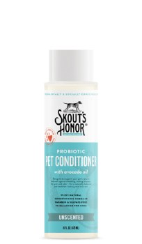 Skout's Honor Probtiotic Pet Conditioner, Unscented, 16-oz