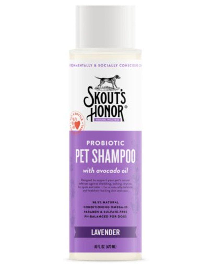 Skout's Honor Pet Probiotic Shampoo Lavender, 16-oz