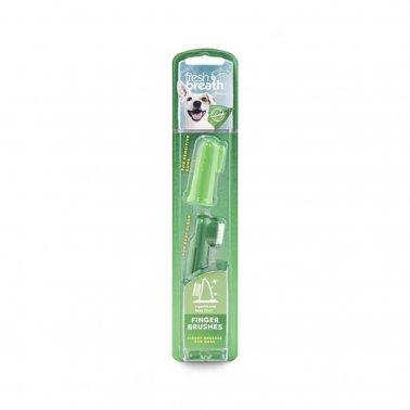TropiClean Fresh Breath Finger Brushes, 2-pack