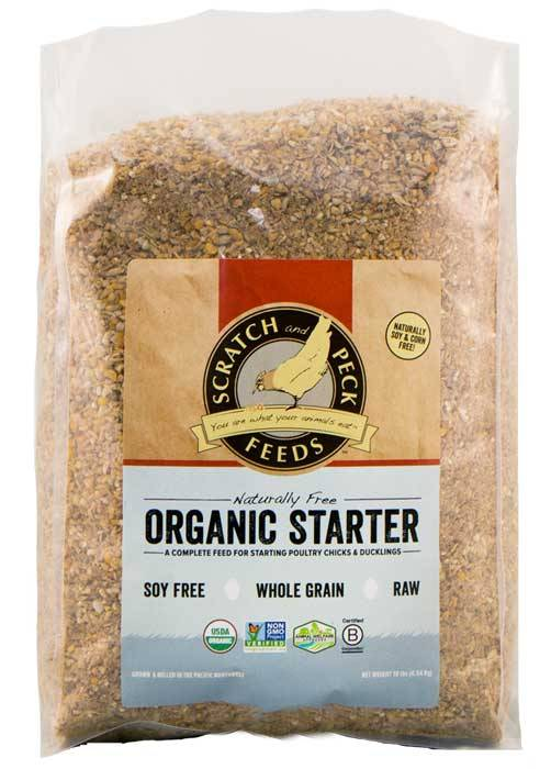 Scratch & Peck Naturally Free Organic Chicken Starter, 10-lb (Size: 10-lb) Image
