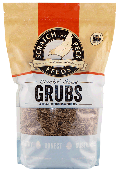 Scratch & Peck Cluckin' Good Grubs Duck & Chicken Treats, 20-oz (Size: 20-oz) Image
