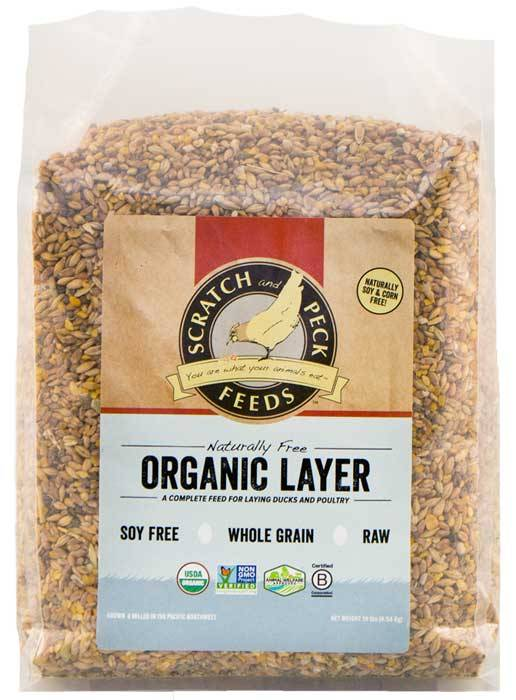 Scratch & Peck Naturally Free Organic Chicken Layer 16%, 10-lb (Size: 10-lb) Image