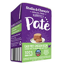 Stella & Chewy's Purrfect Paté Cage-Free Chicken Recipe Wet Cat Food , 5.5-oz