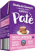 Stella & Chewy's Purrfect Paté Chicken & Salmon Medley Wet Cat Food , 5.5-oz