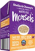 Stella & Chewy's Marvelous Morsels Turkey Recipe Wet Cat Food , 5.5-oz