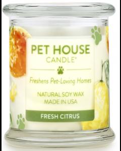 One Fur All Fresh Citrus Candle, 8.5-oz