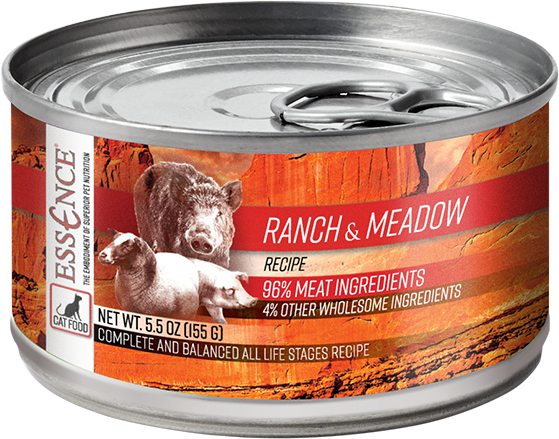 Essence GF Ranch & Meadow Cat Can Wet Food, 5.5-oz
