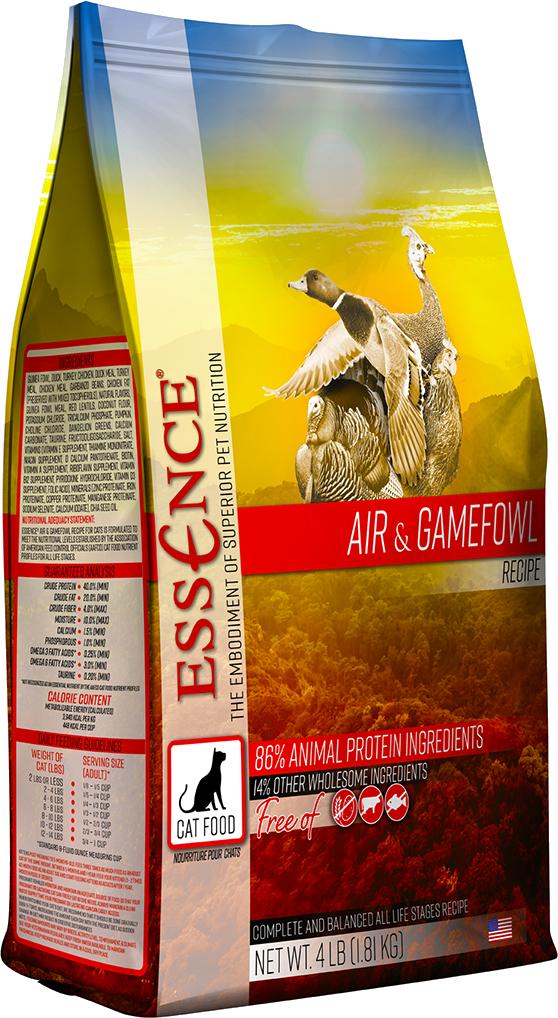 Essence GF Air & Gamefowl Dry Cat Food, 4-lb