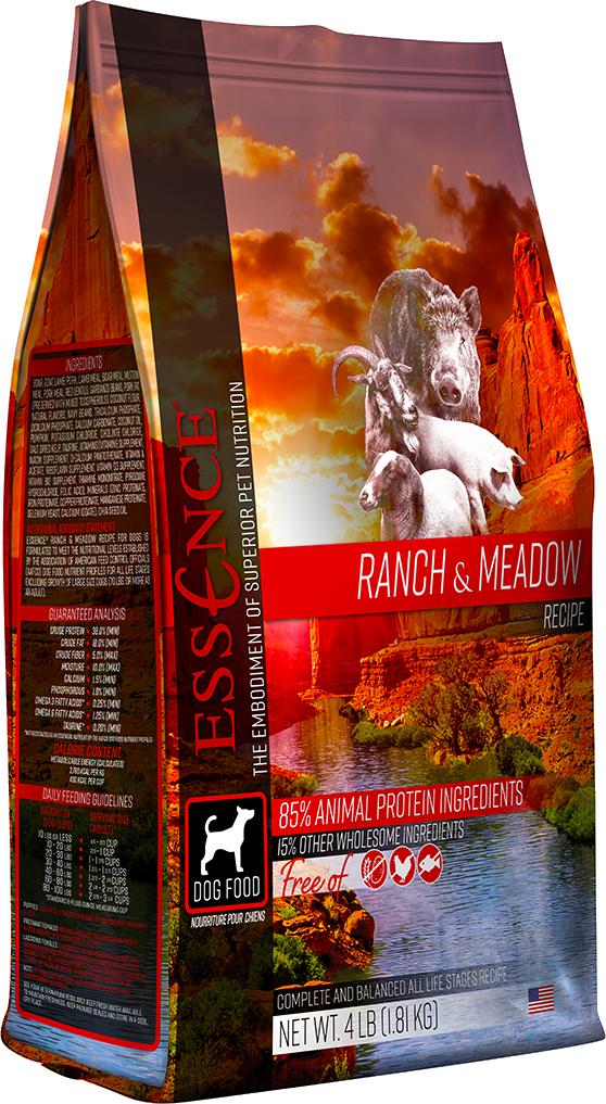 Essence GF Ranch & Meadow Dry Dog Food, 4-lb