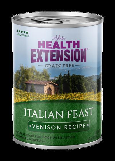 Health Extension Grain Free Italian Feast Venison Dog Wet Food Image