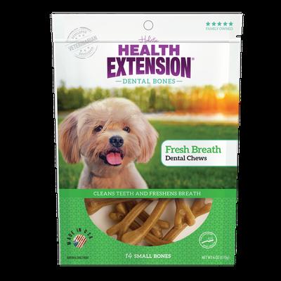 Health Extension Fresh Breath Dental Bones Dog Treats Image