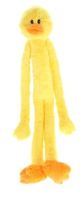Multipet Swingin Slevin Duck Jumbo Dog Toy, 27-in