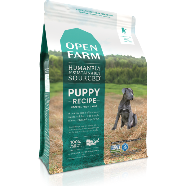 Open Farm Puppy Recipe Grain-Free Dry Dog Food, 24-lb