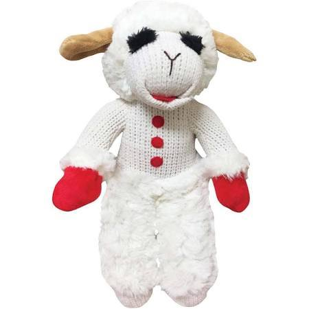 Multipet Standing Lamb ChopDog Toy, 13in